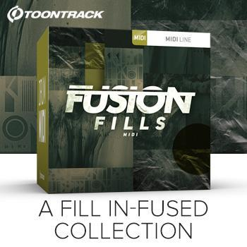 New Release: Toontrack Fusion Fills MIDI Pack
