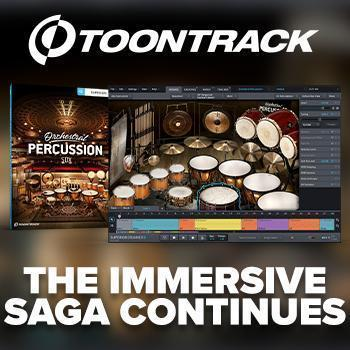RELEASED TODAY!  Toontrack Orchestral Percussion SDX & SD3 Orchestral Edition