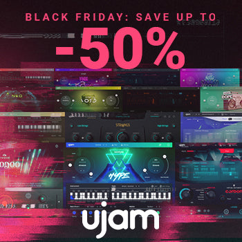 BLACK FRIDAY DEAL - 50% off UJAM virtual instruments and FX plugins