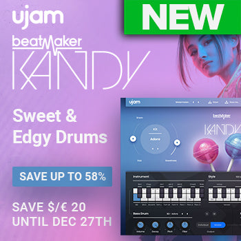 NEW RELEASE: Ujam Beatmaker KANDY