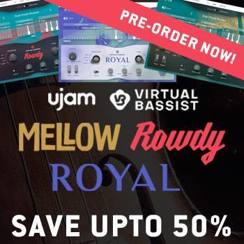 ENDS 17TH DECEMBER - Pre-Order Ujam Virtual Bassist and save up to 50%!!