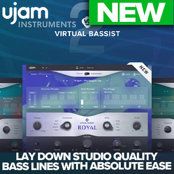 NEW RELEASE: ujam Virtual Bassist 2