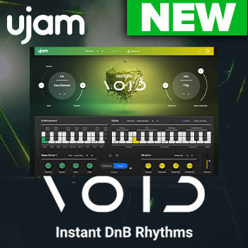 NEW RELEASE: uJam Beatmaker VOID drum & bass instrument
