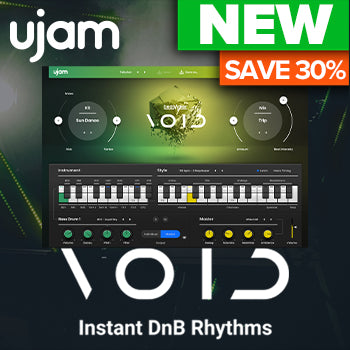 ENDS 1ST MARCH - 30% off Ujam's brand new Beatmaker VOID DnB rhythm creator