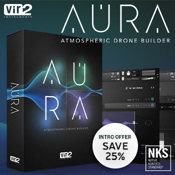 NEW RELEASE: Vir2 Aura Atmospheric Drone Builder