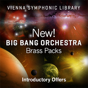 ENDS 31ST JULY - Up to 36% off new VSL Big Bang Orchestra brass packs