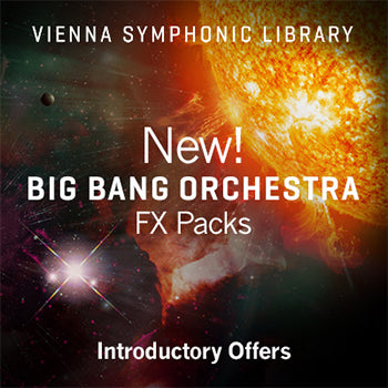 NEW RELEASE: VSL release Big Bang Orchestra Regulus and Solaris