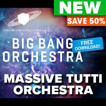 NEW RELEASE: VSL Big Bang Orchestra: Andromeda - Essentials