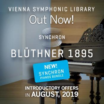 ENDS 31ST AUGUST - New VSL SYNCHRON Blüthner 1895 intro offer - ONLY £148!!
