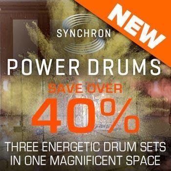 NEW RELEASE: VSL Synchron Power Drums