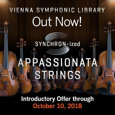 New Release: VSL SYNCHRON-ized Appassionata Strings