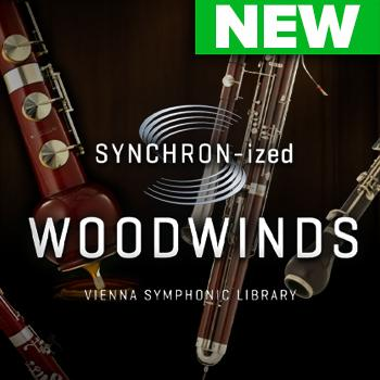 NEW RELEASE: VSL SYNCHRON-ized Woodwinds