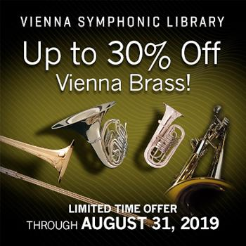 ENDS 31ST AUGUST - Up to 30% of VSL Vienna Brass + Crossgrades!