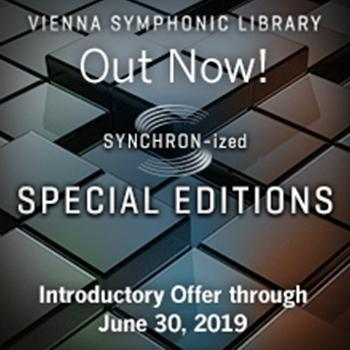 NEW RELEASE: VSL Release SYNCHRON-ized Special Editions
