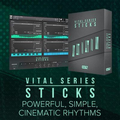 NEW Vir2 Instruments 'Sticks' - an entirely unique percussion tool