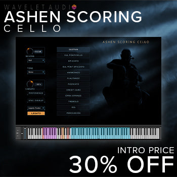 NEW RELEASE: Wavelet Audio Ashen Scoring Cello for Kontakt