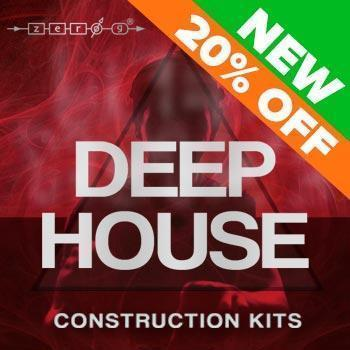NEW RELEASE: Zero-G Deep House Construction Kits