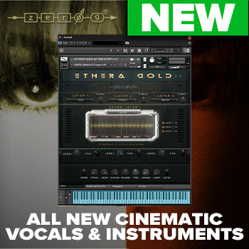 JUST RELEASED - Zero-G Ethera Gold 2 Cinematic Kontakt Instrument