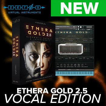 NEW RELEASE: Zero-G Ethera Gold 2.5 Vocal Edition