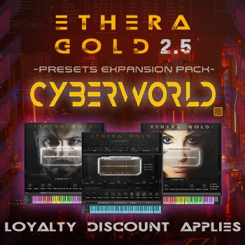 NEW RELEASE: Zero-G CyberWorld Presets - expansion for Ethera Gold 2.5