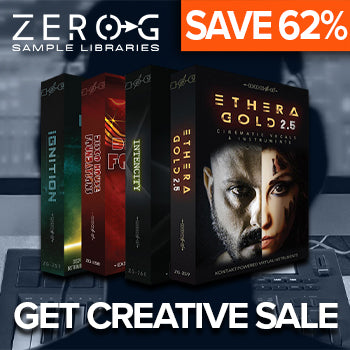 BLACK FRIDAY DEAL - Save up to 62% in the Zero-G Get Creative Sale!