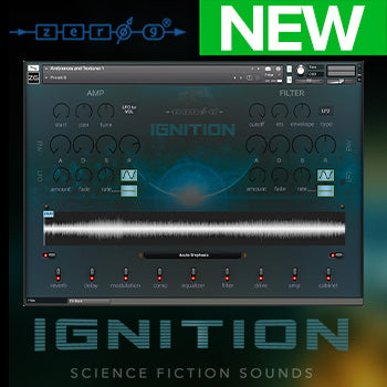 NEW RELEASE: Zero-G Ignition: Science Fiction Sounds