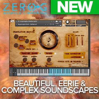 NEW RELEASE: Zero-G Impromptu Textural Percussions for Kontakt