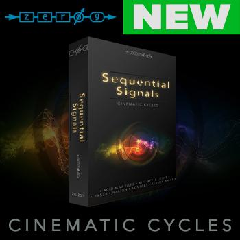 NEW RELEASE: The wait is over Zero-G's Sequential Signals - Cinematic Cycles is here!!