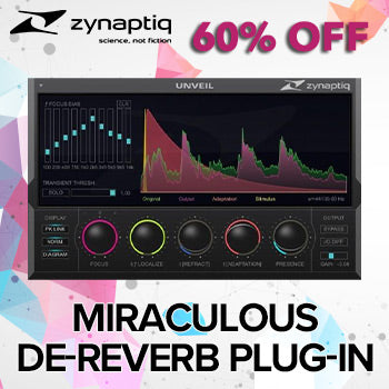 ENDS 29TH FEB - 60% off 'miraculous' Zynaptiq Unveil effects plug-in