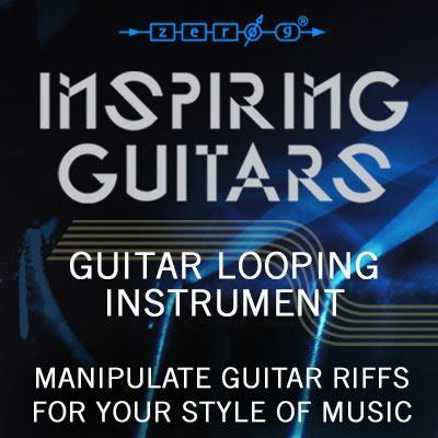 New! Zero-G release Inspiring Guitars for Kontakt