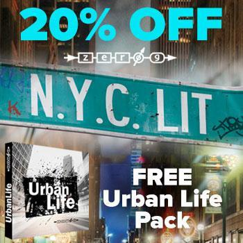 NEW! Zero-G release NYC Lit Hip-Hop sample library