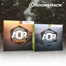 Toontrack release two new AOR MIDI packs