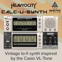 Heavyocity release Calc-U-Synth for Reaktor
