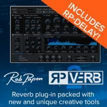 Rob Papen releases RP-Verb 2 with brand new creative tools
