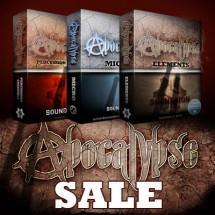 Updates and 40% off Soundiron Apocalypse Percussion titles PLUS new release