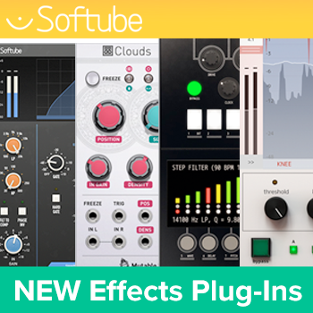 Softube announce multiple new releases