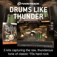 Toontrack start the Metal Month celebrations early with new Big Rock Drums EZX