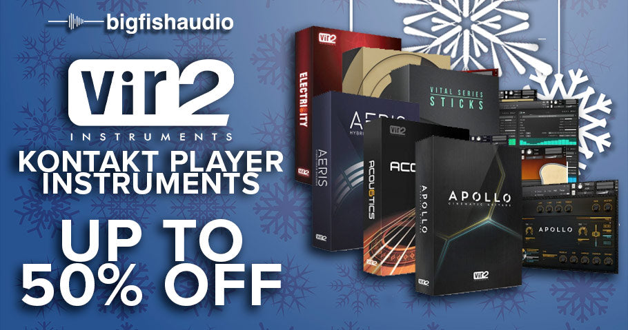 Up to 50% off Vir2 Kontakt Player instruments
