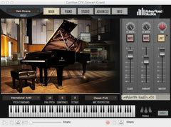 Garritan Concert grand interface