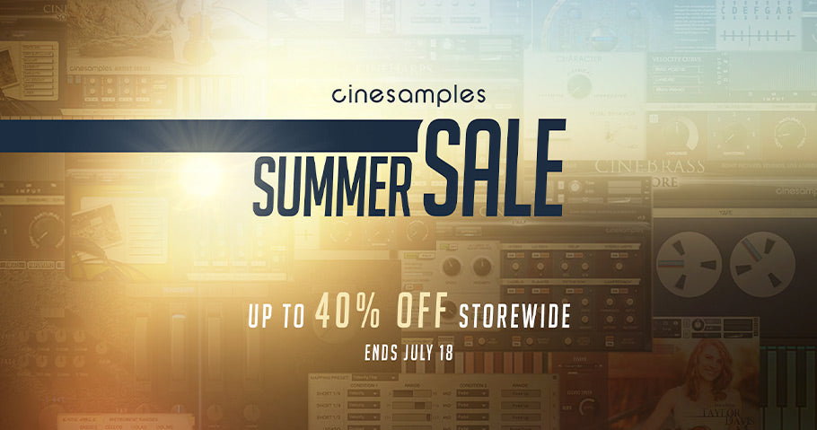 40% off all Cinesamples instruments