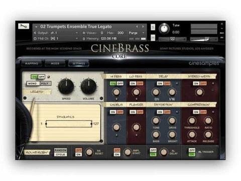 Cinesamples CineBrass Core