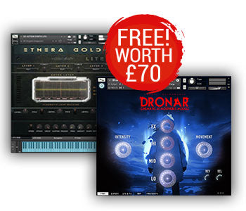 Free Ethera Gold Lite and DRONAR Cinematic Atmospheres