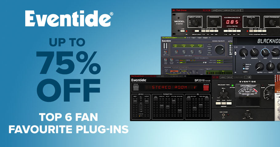 EVENTIDE UP TO 75% OFF PLUGINS SALE