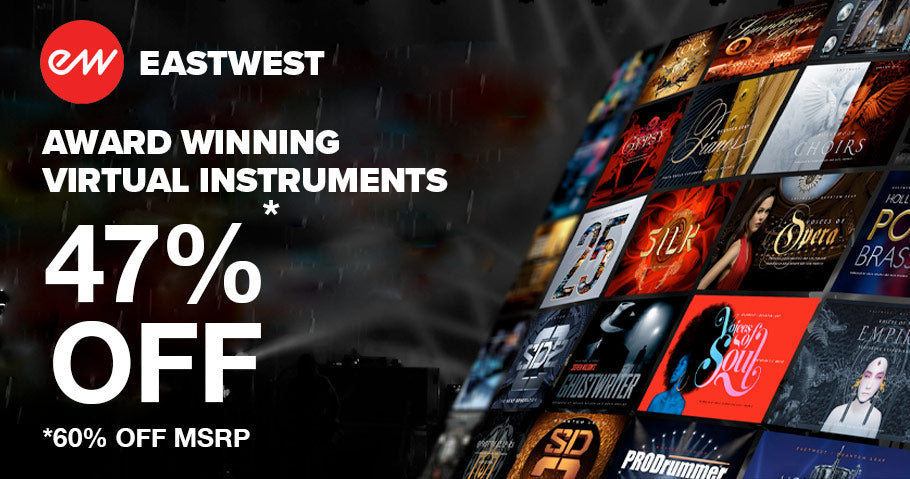 60% OF EASTWEST VIRTUAL INSTRUMENTS