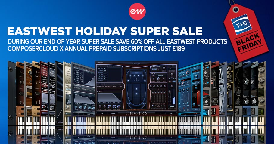 60% OFF EASTWEST VIRTUAL INSTRUMENTS