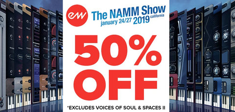 EastWest NAMM Special Offer
