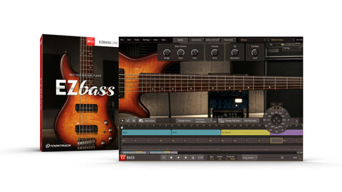 Toontrack announce EZbass will be released in May 2020 - available soon at Time+Space