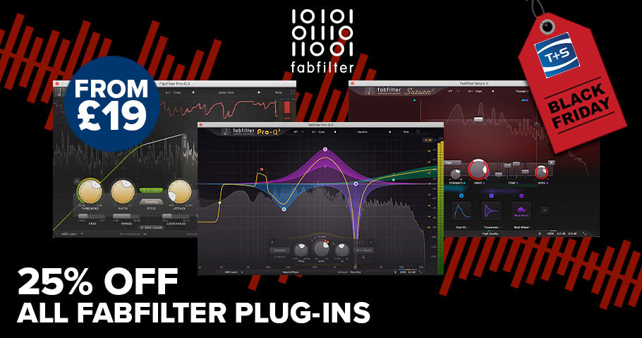 25% OFF ALL FABFILTER PLUGINS