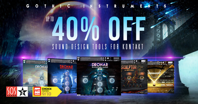 Up to 40% off Gothic Instruments