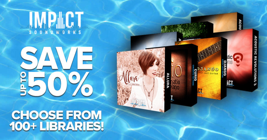 Up to 50% off Impact Soundworks